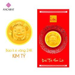 Bao lì xì vàng Kim Tý 2020 - Mẫu 2 - ANCARAT