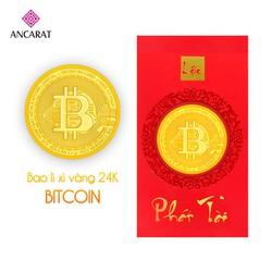 Bao lì xì vàng Bitcoin 2020 - ANCARAT