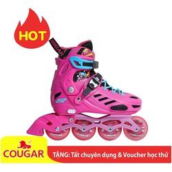 Siêu phẩm giày patin Cougar MZS 313 Độc quyền phân phối TẶNG KÈM Túi + Bảo Hộ Chân Tay + Áo