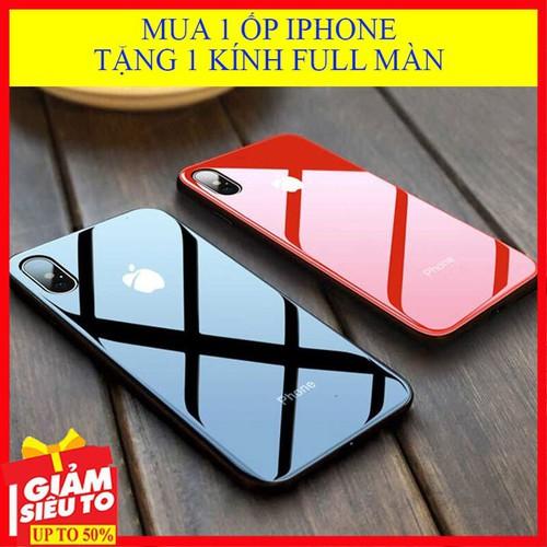 Mua 1 ốp iphone x, xs max  [tặng 1 kính - freeship ] , ốp lưng mặt kính cao cấp, ốp iphone logo táo chống trầy xước, ốp ip, ốp lưng điện thoại - 21252964 , 24463979 , 15_24463979 , 180000 , Mua-1-op-iphone-x-xs-max-tang-1-kinh-freeship-op-lung-mat-kinh-cao-cap-op-iphone-logo-tao-chong-tray-xuoc-op-ip-op-lung-dien-thoai-15_24463979 , sendo.vn , Mua 1 ốp iphone x, xs max  [tặng 1 kính - freeshi