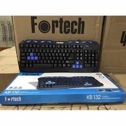 Bàn phím chơi game -  văn phòng Fortech KB132