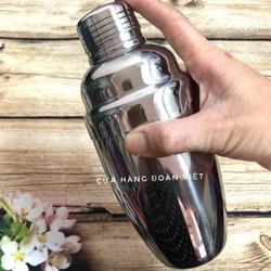 Bình lắc Shaker INOX pha chế Cocktail Có chia vạch dễ dàng định lượng. Dụng cụ pha chế cà phê, trà sữa, nước trái cây - có Size 550ml, 750ml