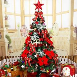 Cây thông Noel loại 1m5 tặng kèm phụ kiện trang trí