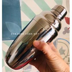 Bình lắc Shaker INOX 750ml pha chế Cocktail Có chia vạch dễ dàng định lượng. Dụng cụ pha chế cà phê, trà sữa, nước trái cây