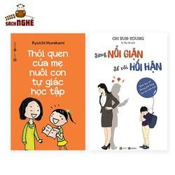 Sách Thái Hà Books Combo Phương Pháp Dạy Con: Thói Quen Của Mẹ Nuôi Con Tự Giác Học Tập + Đừng Nổi Giận, Để Rồi Hối Hận
