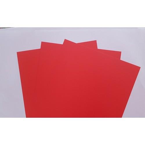 Bìa màu ĐB A4 Pgrand 160gsm  - đỏ