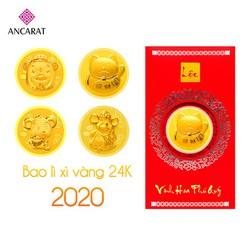 Bao lì xì vàng Tài lộc mẫu 2020 - ANCARAT