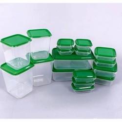 Set 17 hộp nhựa đựng thục phẩm tiện dụng