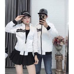 combo 2 Áo khoác cặp đôi nam nữ 2 lớp cao cấp, áo cặp thu đông dài tay trẻ đẹp