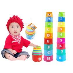 Bộ đồ chơi xếp chồng hình tháp - xepchong