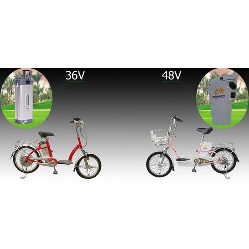 Pin xe đạp điện Lithium cao cấp Bridgestone 36V-12Ah