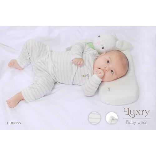 Quần áo trẻ em vải sợi tre Luxry - dài cài vai - 4500610 , 13930431 , 15_13930431 , 160000 , Quan-ao-tre-em-vai-soi-tre-Luxry-dai-cai-vai-15_13930431 , sendo.vn , Quần áo trẻ em vải sợi tre Luxry - dài cài vai