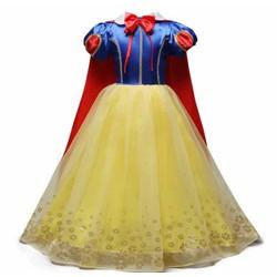 BT9 Đầm công chúa Bạch Tuyết bé 100-140cm