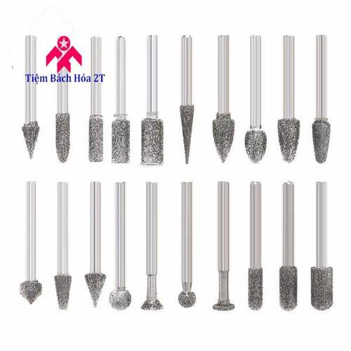 Bộ 20 mũi khắc mài hợp kim trục 6mm - 4611867 , 13815303 , 15_13815303 , 320000 , Bo-20-mui-khac-mai-hop-kim-truc-6mm-15_13815303 , sendo.vn , Bộ 20 mũi khắc mài hợp kim trục 6mm