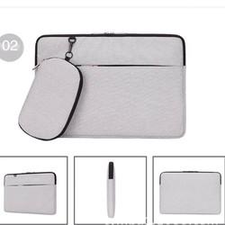 Túi chống sốc cho macbook, laptop kèm ví đựng phụ kiện