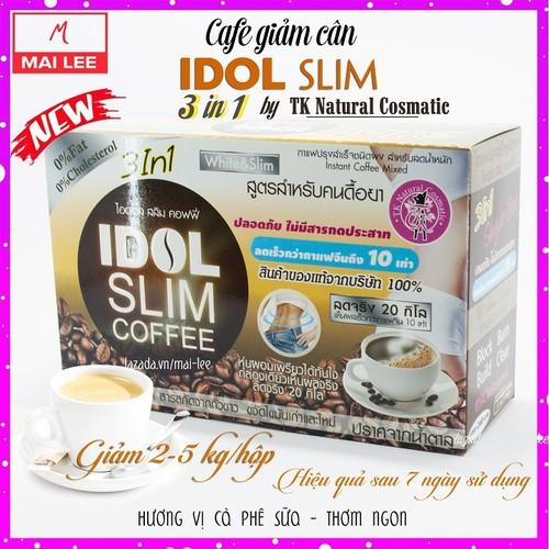 CÀ PHÊ GIẢM CÂN IDOL SLIM COFFEE CHUẨN THÁI LAN MẪU MỚI - 7503438 , 14100129 , 15_14100129 , 250000 , CA-PHE-GIAM-CAN-IDOL-SLIM-COFFEE-CHUAN-THAI-LAN-MAU-MOI-15_14100129 , sendo.vn , CÀ PHÊ GIẢM CÂN IDOL SLIM COFFEE CHUẨN THÁI LAN MẪU MỚI