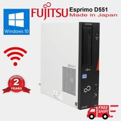 Máy tính đồng Bộ Nhật Fujitsu G1620 ram 2GB HDD 160GB Cũ nguyên zin