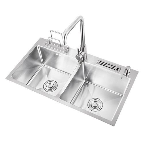 Bồn rửa inox dễ vệ sinh