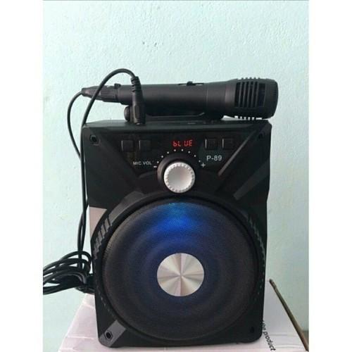 Loa Karaoke Bluetooth Xách Tay P88-P89 Tặng Kèm Mic - 4507468 , 14011653 , 15_14011653 , 259000 , Loa-Karaoke-Bluetooth-Xach-Tay-P88-P89-Tang-Kem-Mic-15_14011653 , sendo.vn , Loa Karaoke Bluetooth Xách Tay P88-P89 Tặng Kèm Mic