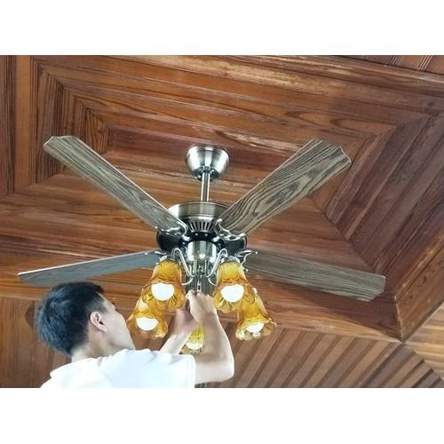 Quạt trần đèn trang trí cánh gỗ có điều khiển và hình thật - 4506670 , 14004414 , 15_14004414 , 3375000 , Quat-tran-den-trang-tri-canh-go-co-dieu-khien-va-hinh-that-15_14004414 , sendo.vn , Quạt trần đèn trang trí cánh gỗ có điều khiển và hình thật