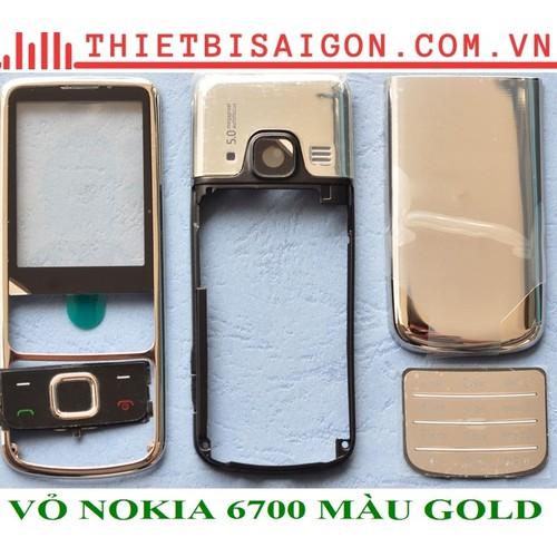 VỎ NOKIA 6700 MÀU GOLD