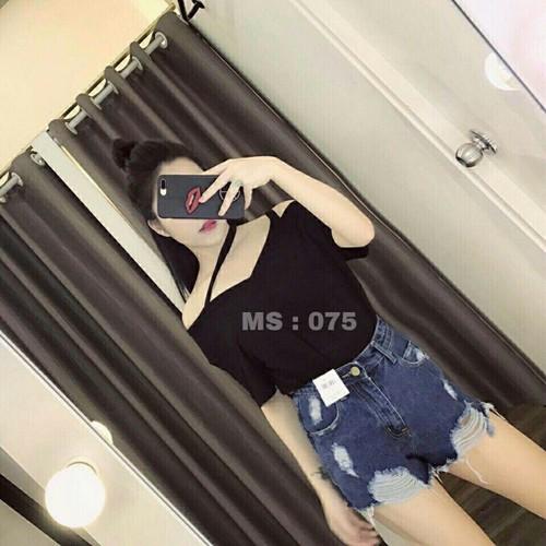 Quần short jean nữ cute - 7356780 , 14007206 , 15_14007206 , 110000 , Quan-short-jean-nu-cute-15_14007206 , sendo.vn , Quần short jean nữ cute