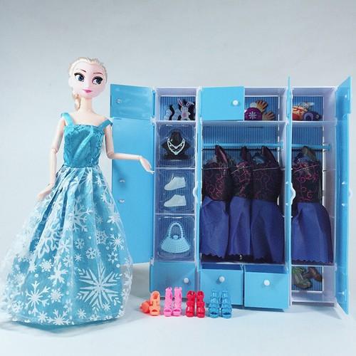 Tủ Quần Áo Búp Bê Elsa - 7332010 , 13992022 , 15_13992022 , 358000 , Tu-Quan-Ao-Bup-Be-Elsa-15_13992022 , sendo.vn , Tủ Quần Áo Búp Bê Elsa
