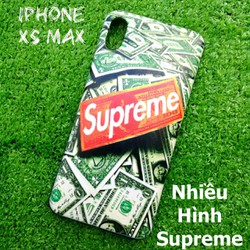Ốp Lưng iPhone Xs Max Nhiều Hình Supreme Cá Tính