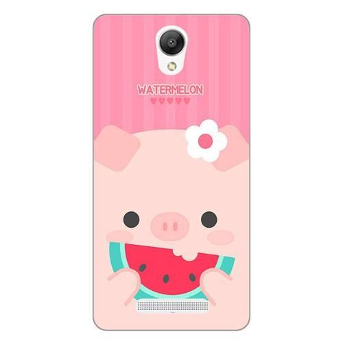 Ốp lưng điện thoại xiaomi redmi note 2 - Pig 04