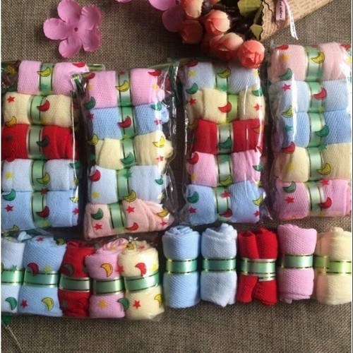 Set 30 đôi Tất da cho bé hình kẹo 0- 2 tuổi