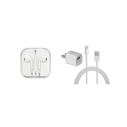 Combo củ sạc Iphone, cáp Lightning, tai nghe EarPods dành cho iphone - Giá cực rẻ