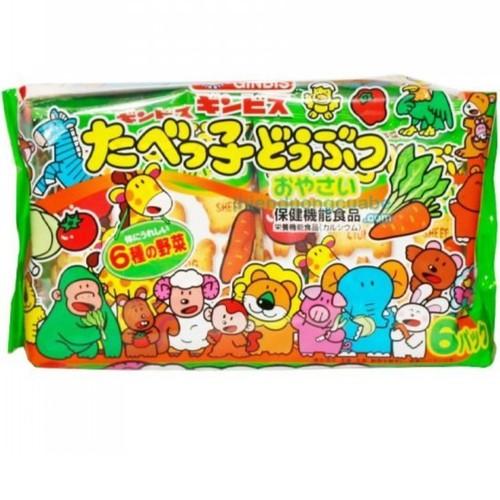 Bánh Quy Hình Thú Ginbis Vị Rau Củ Nhật Bản