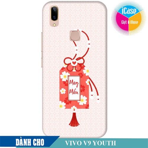 Ốp lưng nhựa dẻo dành cho Vivo V9 Youth in hình Thẻ May Mắn