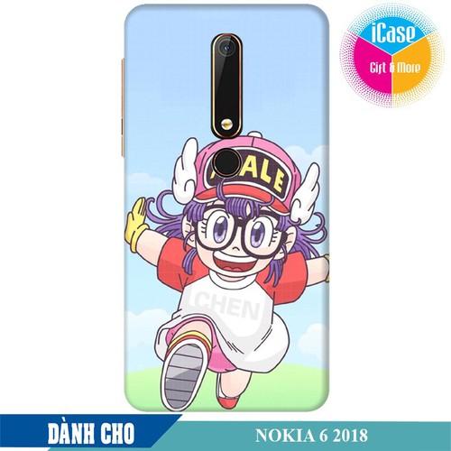 Ốp lưng nhựa dẻo dành cho Nokia 6 2018 in hình Arale