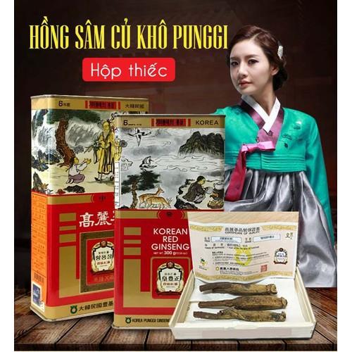 Hồng sâm củ khô Punggi Hàn Quốc hộp thiếc 150g - 7348475 , 14001814 , 15_14001814 , 2642857 , Hong-sam-cu-kho-Punggi-Han-Quoc-hop-thiec-150g-15_14001814 , sendo.vn , Hồng sâm củ khô Punggi Hàn Quốc hộp thiếc 150g