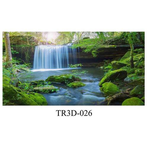 Tranh hồ cá Tr3D-026 kích thước 120x50