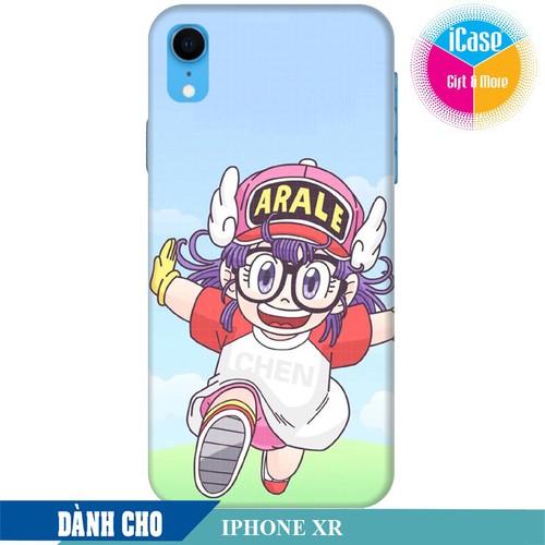 Ốp lưng nhựa dẻo dành cho iPhone XR in hình Arale