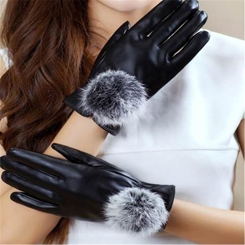Găng tay da lót lông cảm ứng điện thoại - Nữ - 7356285 , 14006829 , 15_14006829 , 105000 , Gang-tay-da-lot-long-cam-ung-dien-thoai-Nu-15_14006829 , sendo.vn , Găng tay da lót lông cảm ứng điện thoại - Nữ