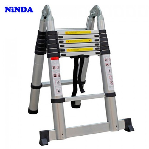 Thang nhôm rút gọn chữ A Ninda ND-50AI