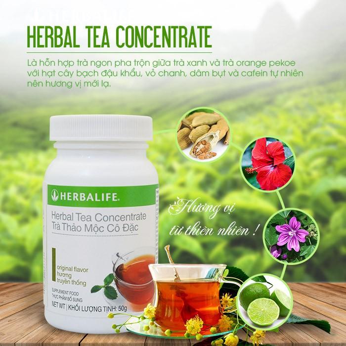 Herbal Tea Concentrate - Trà thảo mộc cô đặc giảm cân Herbalife 1