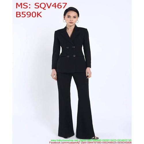 Sét áo dài tay cổ vest 4 nút và quần dài thanh lịch cá tính SQV467 - 7340193 , 13996591 , 15_13996591 , 590000 , Set-ao-dai-tay-co-vest-4-nut-va-quan-dai-thanh-lich-ca-tinh-SQV467-15_13996591 , sendo.vn , Sét áo dài tay cổ vest 4 nút và quần dài thanh lịch cá tính SQV467