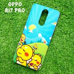 Ốp Lưng Oppo R17 Pro Khủng Long Lai Ong Qoobee Cute