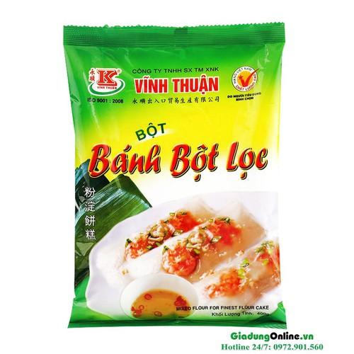 Bột bánh bột lọc Vĩnh Thuận gói 400g - 7357406 , 14007682 , 15_14007682 , 35900 , Bot-banh-bot-loc-Vinh-Thuan-goi-400g-15_14007682 , sendo.vn , Bột bánh bột lọc Vĩnh Thuận gói 400g
