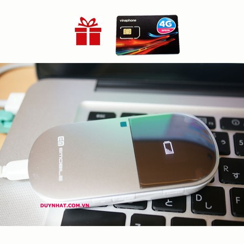 Phát Wifi 3G 4G Emobile D25HW - Chính Hãng Phân Phối