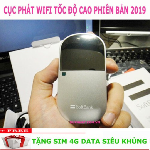 Modem Phát Wifi Emobile D25HW - Bộ Phát Wifi Bằng Sim