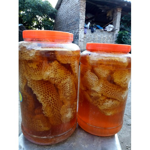 3kg Mật ong rừng nguyên sáp