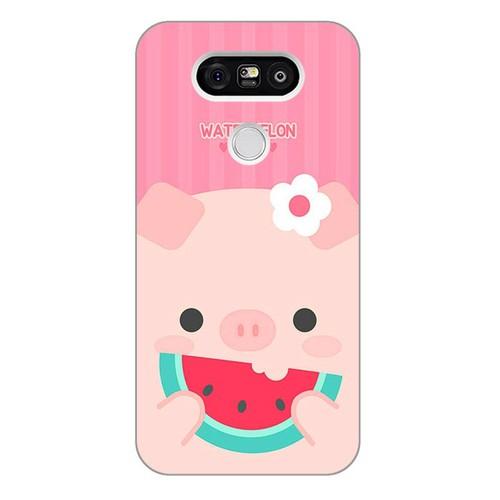 Ốp lưng điện thoại lg g5 - Pig 04