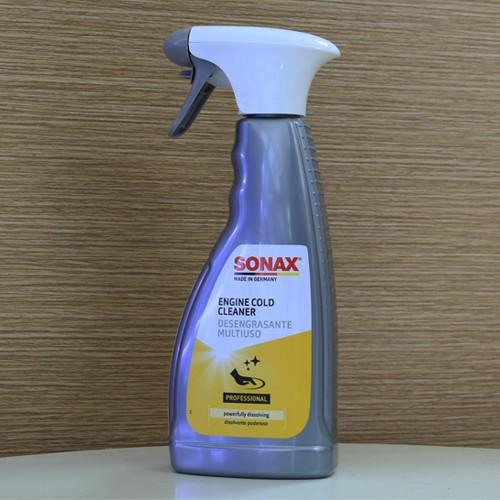 Chai xịt rửa vệ sinh động cơ xe ô tô SONAX ENGINE COLD CLEANER 500ml