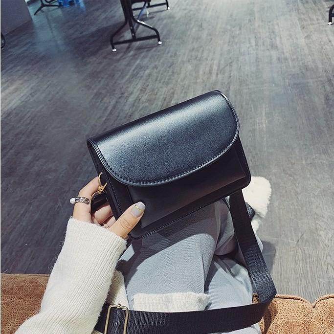 Túi da trơn pastel |Túi đeo chéo nữ 3