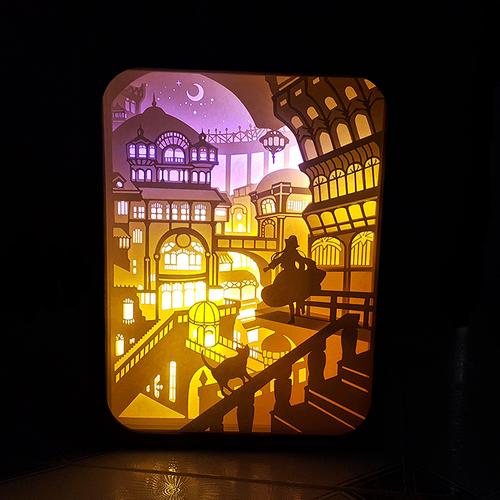 Đèn ngủ handmade, hộp đèn bàn handmade hình công chúa - 4634896 , 13990717 , 15_13990717 , 600000 , Den-ngu-handmade-hop-den-ban-handmade-hinh-cong-chua-15_13990717 , sendo.vn , Đèn ngủ handmade, hộp đèn bàn handmade hình công chúa